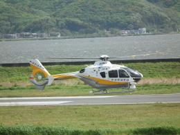 ヒコーキグモさんが、岡南飛行場で撮影した中日本航空 EC135P2+の航空フォト(飛行機 写真・画像)