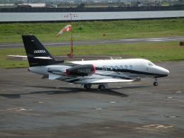 ヒコーキグモさんが、岡南飛行場で撮影したグラフィック Citation Latitude(680A)の航空フォト(飛行機 写真・画像)