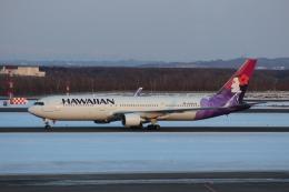 Rsaさんが、新千歳空港で撮影したハワイアン航空 767-33A/ERの航空フォト(飛行機 写真・画像)