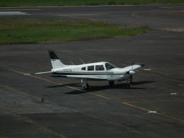ヒコーキグモさんが、岡南飛行場で撮影した日本個人所有 PA-28R-201 Arrowの航空フォト(飛行機 写真・画像)