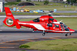 A.Tさんが、名古屋飛行場で撮影した名古屋市消防航空隊 AS365N3 Dauphin 2の航空フォト(飛行機 写真・画像)