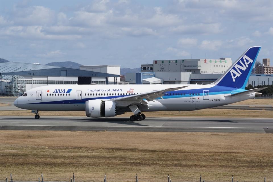 HEATHROWさんの全日空 Boeing 787-8 Dreamliner (JA838A) 航空フォト