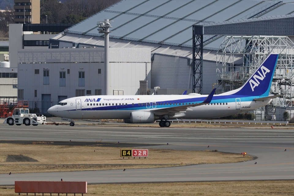 HEATHROWさんの全日空 Boeing 737-800 (JA65AN) 航空フォト