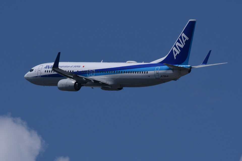TOPAZ102さんの全日空 Boeing 737-800 (JA78AN) 航空フォト
