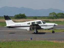 F.YUKIHIDEさんが、岡南飛行場で撮影した日本個人所有 PA-28R-201 Arrowの航空フォト(飛行機 写真・画像)