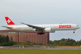 こだしさんが、成田国際空港で撮影したスイスインターナショナルエアラインズ 777-3DE/ERの航空フォト(飛行機 写真・画像)