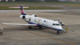 K&Kさんが、松山空港で撮影したアイベックスエアラインズ CL-600-2C10 Regional Jet CRJ-702ERの航空フォト(飛行機 写真・画像)