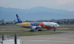 K&Kさんが、松山空港で撮影した全日空 777-281/ERの航空フォト(飛行機 写真・画像)