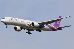 こだしさんが、成田国際空港で撮影したタイ国際航空 777-3D7/ERの航空フォト(飛行機 写真・画像)