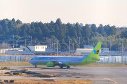 inyoさんが、成田国際空港で撮影したジンエアー 737-86Nの航空フォト(飛行機 写真・画像)