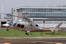 KAZFLYERさんが、東京ヘリポートで撮影した日本法人所有 AW109SPの航空フォト(飛行機 写真・画像)