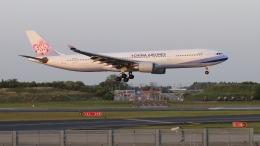 raichanさんが、成田国際空港で撮影したチャイナエアライン A330-302の航空フォト(飛行機 写真・画像)