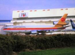 エルさんが、成田国際空港で撮影したコンチネンタル航空 DC-10-10の航空フォト(飛行機 写真・画像)