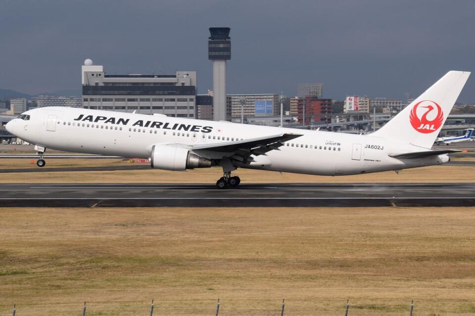 Soutaさんの日本航空 Boeing 767-300 (JA602J) 航空フォト