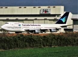エルさんが、成田国際空港で撮影したガルーダ・インドネシア航空 747-2U3Bの航空フォト(飛行機 写真・画像)