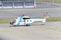 md11jbirdさんが、神戸空港で撮影した中日本航空 AS332L1 Super Pumaの航空フォト(飛行機 写真・画像)