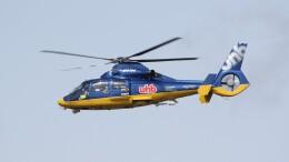 俊夫さんが、札幌飛行場で撮影した北海道航空 AS365N3 Dauphin 2の航空フォト(飛行機 写真・画像)