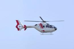 md11jbirdさんが、神戸空港で撮影した学校法人ヒラタ学園 航空事業本部 EC135P2+の航空フォト(飛行機 写真・画像)