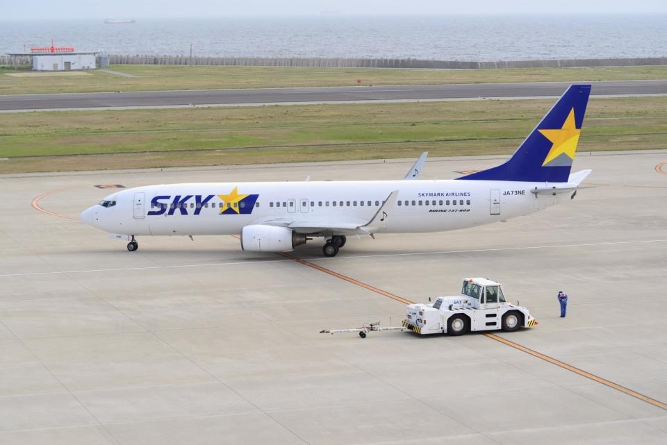 md11jbirdさんのスカイマーク Boeing 737-800 (JA73NE) 航空フォト