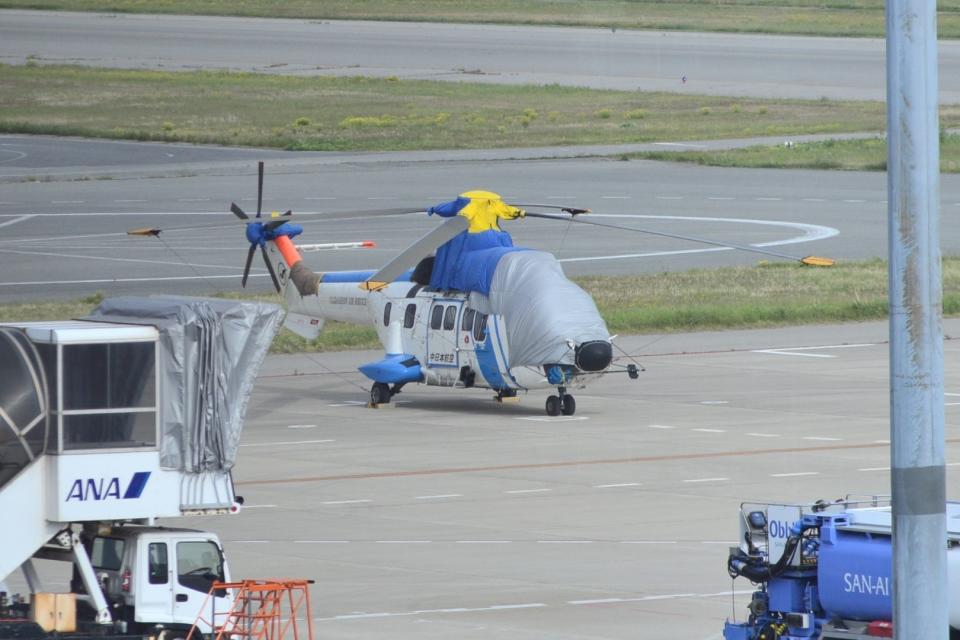 md11jbirdさんの中日本航空 Aerospatiale AS332 Super Puma (JA6717) 航空フォト