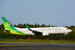 アルビレオさんが、成田国際空港で撮影した春秋航空日本 737-86Nの航空フォト(飛行機 写真・画像)