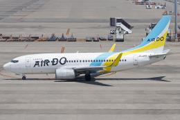 A.Tさんが、中部国際空港で撮影したAIR DO 737-781の航空フォト(飛行機 写真・画像)
