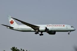 soppy@ja899aさんが、成田国際空港で撮影したエア・カナダ 787-9の航空フォト(飛行機 写真・画像)