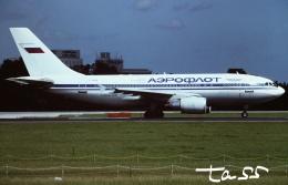 tassさんが、成田国際空港で撮影したアエロフロート・ロシア航空 A310-308の航空フォト(飛行機 写真・画像)