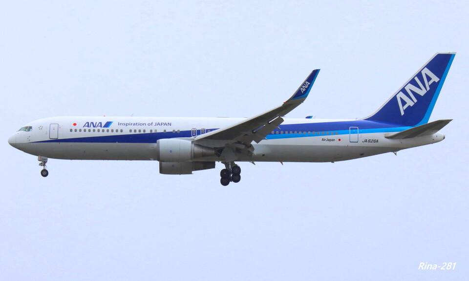 RINA-281さんの全日空 Boeing 767-300 (JA626A) 航空フォト