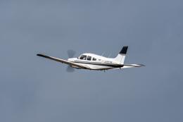 あけみさんさんが、龍ケ崎飛行場で撮影した日本個人所有 PA-28R-201 Arrowの航空フォト(飛行機 写真・画像)