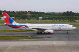 kuraykiさんが、成田国際空港で撮影したネパール航空 A330-243の航空フォト(飛行機 写真・画像)