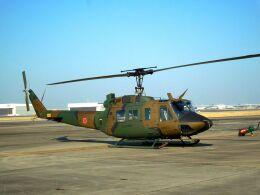 まいけるさんが、名古屋飛行場で撮影した陸上自衛隊 UH-1Jの航空フォト(飛行機 写真・画像)