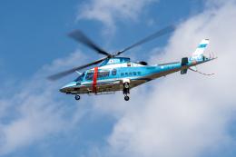 あけみさんさんが、龍ケ崎飛行場で撮影した群馬県警察 A109E Powerの航空フォト(飛行機 写真・画像)
