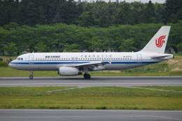 kuraykiさんが、成田国際空港で撮影した中国国際航空 A320-232の航空フォト(飛行機 写真・画像)
