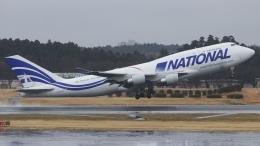 singapore346さんが、成田国際空港で撮影したナショナル・エアラインズ 747-412(BCF)の航空フォト(飛行機 写真・画像)