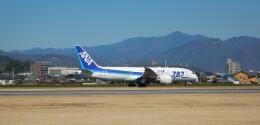 K&Kさんが、松山空港で撮影した全日空 787-8 Dreamlinerの航空フォト(飛行機 写真・画像)