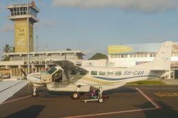 singapore346さんが、ザンジバル国際空港で撮影したZan Air 208B Grand Caravanの航空フォト(飛行機 写真・画像)