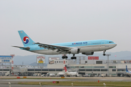 tsubameさんが、福岡空港で撮影した大韓航空 A300B4-622Rの航空フォト(飛行機 写真・画像)