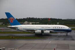 hiroki_h2さんが、成田国際空港で撮影した中国南方航空 A380-841の航空フォト(飛行機 写真・画像)