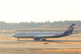 inyoさんが、成田国際空港で撮影したアエロフロート・ロシア航空 A330-343Xの航空フォト(飛行機 写真・画像)