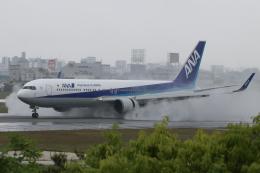 singapore346さんが、伊丹空港で撮影した全日空 767-381/ERの航空フォト(飛行機 写真・画像)
