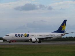 ノリださんが、下地島空港で撮影したスカイマーク 737-8FZの航空フォト(飛行機 写真・画像)