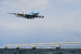 蒼くまさんが、関西国際空港で撮影した全日空 A380-841の航空フォト(飛行機 写真・画像)