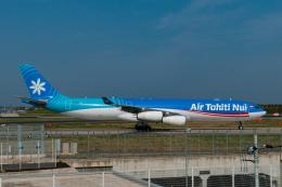 リゾッチャ(紫)さんが、成田国際空港で撮影したエア・タヒチ・ヌイ A340-313Xの航空フォト(飛行機 写真・画像)