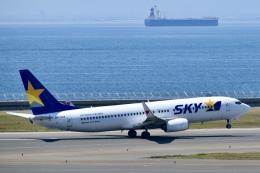東亜国内航空さんが、中部国際空港で撮影したスカイマーク 737-86Nの航空フォト(飛行機 写真・画像)