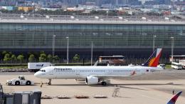 誘喜さんが、羽田空港で撮影したフィリピン航空 A321-271Nの航空フォト(飛行機 写真・画像)