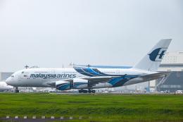 SGR RT 改さんが、成田国際空港で撮影したマレーシア航空 A380-841の航空フォト(飛行機 写真・画像)