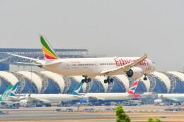 Hiro Satoさんが、スワンナプーム国際空港で撮影したエチオピア航空 787-9の航空フォト(飛行機 写真・画像)