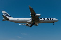 リゾッチャ(紫)さんが、成田国際空港で撮影したフィンエアー A340-313Xの航空フォト(飛行機 写真・画像)