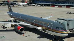 singapore346さんが、チューリッヒ空港で撮影したロイヤル・ヨルダン航空 A321-231の航空フォト(飛行機 写真・画像)